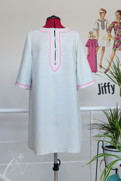 marchew158_1 - Kaftan (lata '60.)